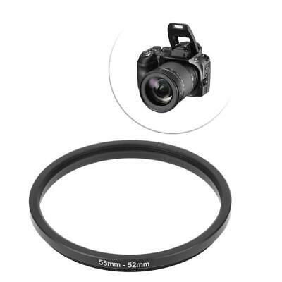 55mm To 52mm Metal Step Down Rings Lens Adapter Filter Camera Tool Accessory New