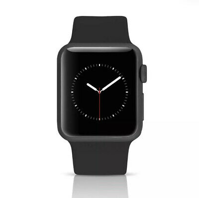 Apple Watch Series 3 GPS+LTE w/ 42MM Space Gray Aluminum Case & Black Band