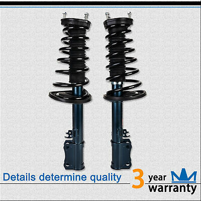 PAIR RED REAR GAS SHOCKS ABSORBER STRUT KIT FOR 02-06 TOYOTA CAMRY 05-06 AVALON