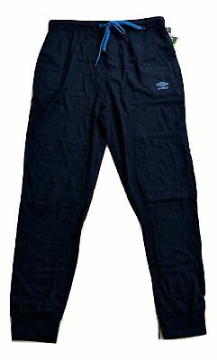 Umbro Boys Knitted Jersey Joggers Pants Kids Size 14 New