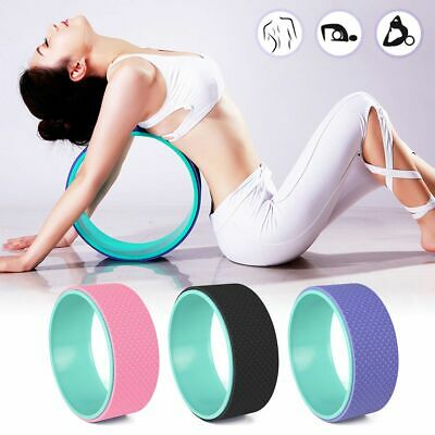 13in Yoga Wheel Backbend Stretching Back Roller Ring Circle Prop Fitness Indoor