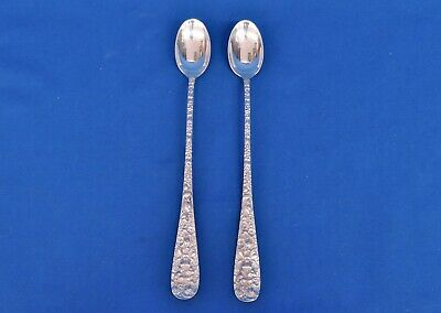 Rose by Stieff Sterling Silver Iced Tea Spoon 8
