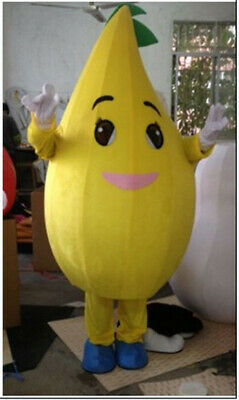 Details about  /Adults Fruit Pineapple Mascot Costume Suit Party Halloween Fancy Dress Parade