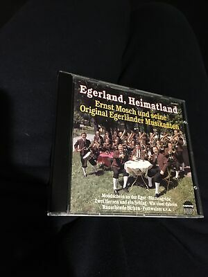 ERNST MOSCH Egerland, home country.  1992 Convoy CD in very good condition #B