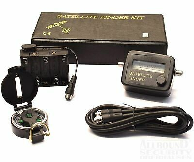 "Satelliten-Finder Set ""SFI-1S"" 5-Teilig SATFINDER-SET"