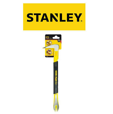 """STANLEY 250mm 10"""" Pry Bar Mini Claw Nail Pin Puller Removing Tool STA155511"""