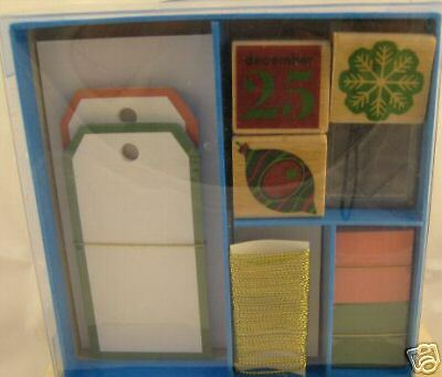 """""""rubber Stamps For Holiday Projects""""/gift Tags, Cards"""