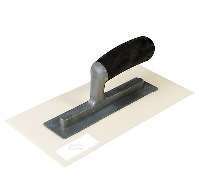 "EPIC Flexible Plastic 11"" x 5-1/2"" Top Coat K Rendering Finishing Float Trowel"