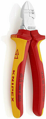 Knipex 1426160 160mm VDE 1000v Insulation Wire Cable Stripper Side Cutter Pliers