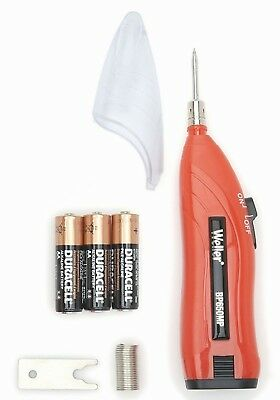 WELLER 6 Watt 4.5v Cordless Battery Powered Soldering/Solder Iron +Wire BP650EU