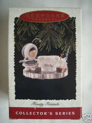 1996 HALLMARK FROSTY FRIENDS #17 Book Value $44