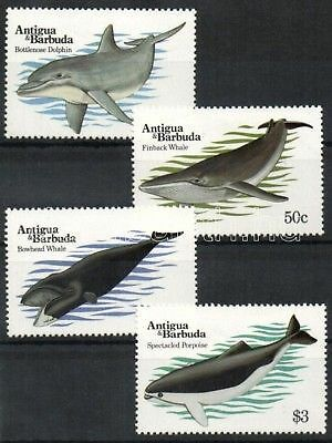 Antigua & Barbuda stamp 1983 Whales Animals MNH WS33935