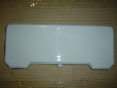 20.25 x 8.25 Eljer toilet commode tank lid cover top 5120 seat bumper 1935 WHITE