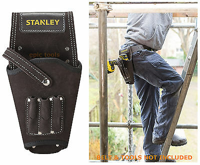 STANLEY Tool Buffalo Dark Tan Cordless Drill/Impact Driver Holster Holder 180118