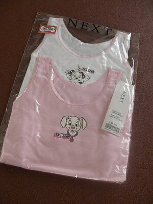 Ex-store (Next) 2x Disney Dalmatians vests 2 yrs BNWT