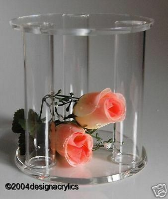 Clear Mini Acrylic Cage Separator Wedding Cake Stand
