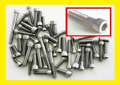 Stainless Steel UNC Imperial Allen Bolts. (Socket Caps) Harley Davidson, Buell
