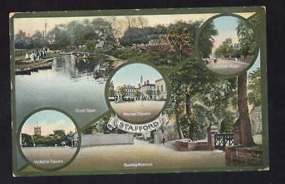 Staffs STAFFORD Multiview PPC 1914