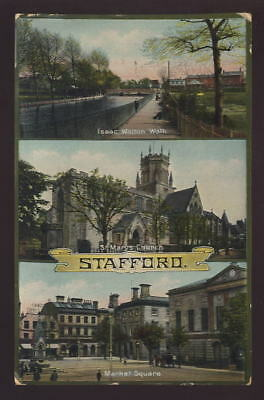 Staffs STAFFORD Multiview PPC 1912
