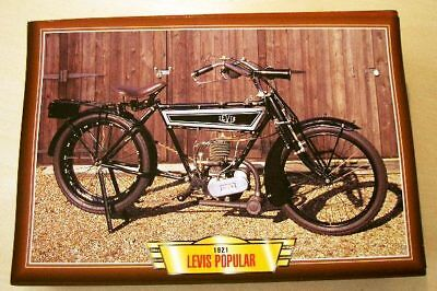 Levis Popular Vintage Classic Motorcycle Bike 1920's Picture Print 1921