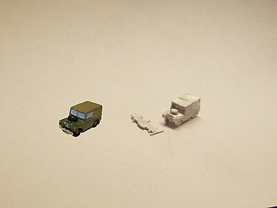 P&D Marsh N Gauge N Scale G15 Landrover Series I car casting requires painting
