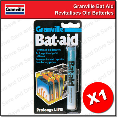 Granville Car Bat Aids Battery Tablets Additive Bat-Aid Revitalize Old Batteries