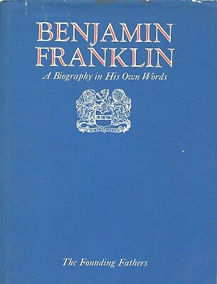 Benjamin Franklin - A Biography In His Own Words 2 Vols 1972 - VG+