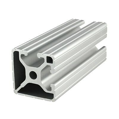 "80/20 Inc 15 Series 1.5"" x 1.5"" Aluminum Extrusion Bi-Slot #1502 x 96.5"" Long N"