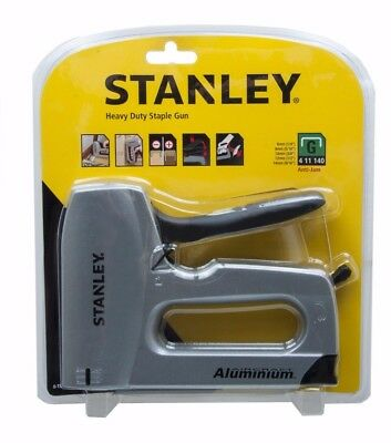 STANLEY 0-TR150HL SharpShooter Heavy Duty Aluminium Hand 6mm To14mm Staple Gun