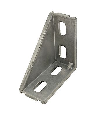 80/20 Inc T-Slot Aluminum 4 Hole Inside Corner Bracket 20 Series #14057 N