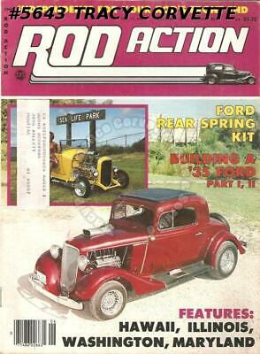 June 1982 Rod Action 1934 Ford Sedan 40 Chevy Coupe 31 Ford Vicky 29 Ford Hiboy
