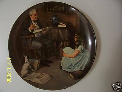 1984 NORMAN ROCKFELLER COLLECTOR PLATE BY KNOWLES