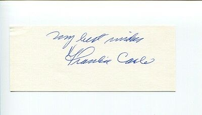 Frankie Carle Jazz Big Band Bandleader Sunrise Serenade Signed Autograph