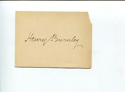 Henry Henn Bishop of Burnley Church of England Religious Clergy Signed Autograph