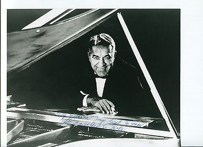 Frankie Carle Jazz Big Band Bandleader Sunrise Serenade Signed Autograph Photo