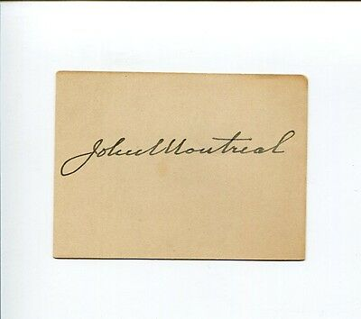 John Farthing Episcopal Bishop of Montreal Dean Ontario Clergy Signed Autograph