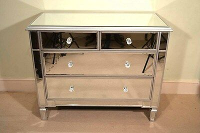 Fabulous Art Deco Mirrored Chest of Drawers
