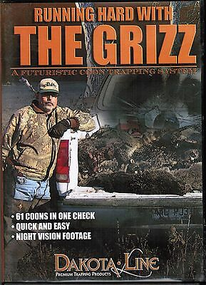 New Release, Coon Trapping with the Griz traps trap DVD