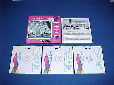 UNITED NATIONS VIEW-MASTER PACK 1960