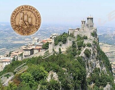 Republic of SAN MARINO - Travel Souvenir Magnet