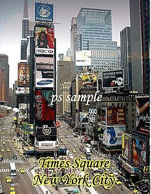 NY - TIMES SQUARE daytime - Souvenir Magnet