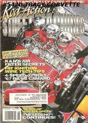 August 1996 Rod Action & Street Machines 1967 RS/SS 4 SPEED 12 BOLT CAMARO