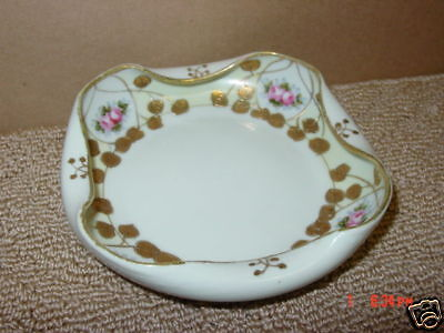 Vintage,Oriental,Themed,Bowl,Handpainted,Porcelain,Old