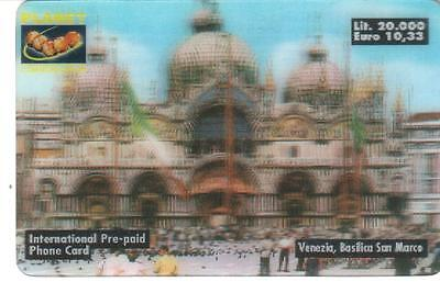 Nuova - Planet  Communication - Lire 20.000 - Venezia Basilica San  Marco