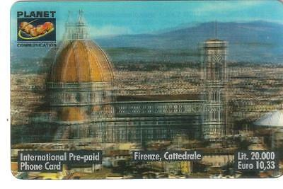Nuova - Planet  Communication - Lire 20.000 - Firenze Cattedrale