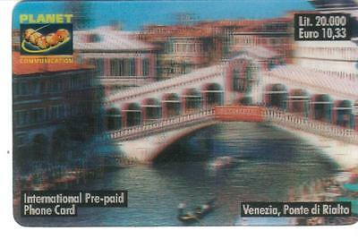 Nuova - Planet  Communication - Lire 20.000 - Venezia,ponte Di Rialto