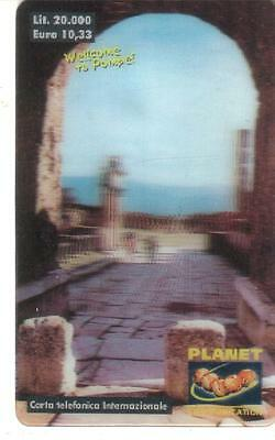 Nuova - Planet  Communication - Lire 20.000 - Veduta Pompei
