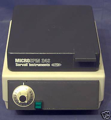 Sorvall Instruments microspin 24s