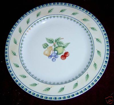 PTS Int'l Interiors Orchard Fruits Salad Plate