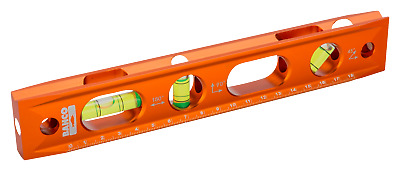 "BAHCO 9""/230mm Scaffolders/Builders/Boat Magnetic Metal Torpedo Level,426TOR9"